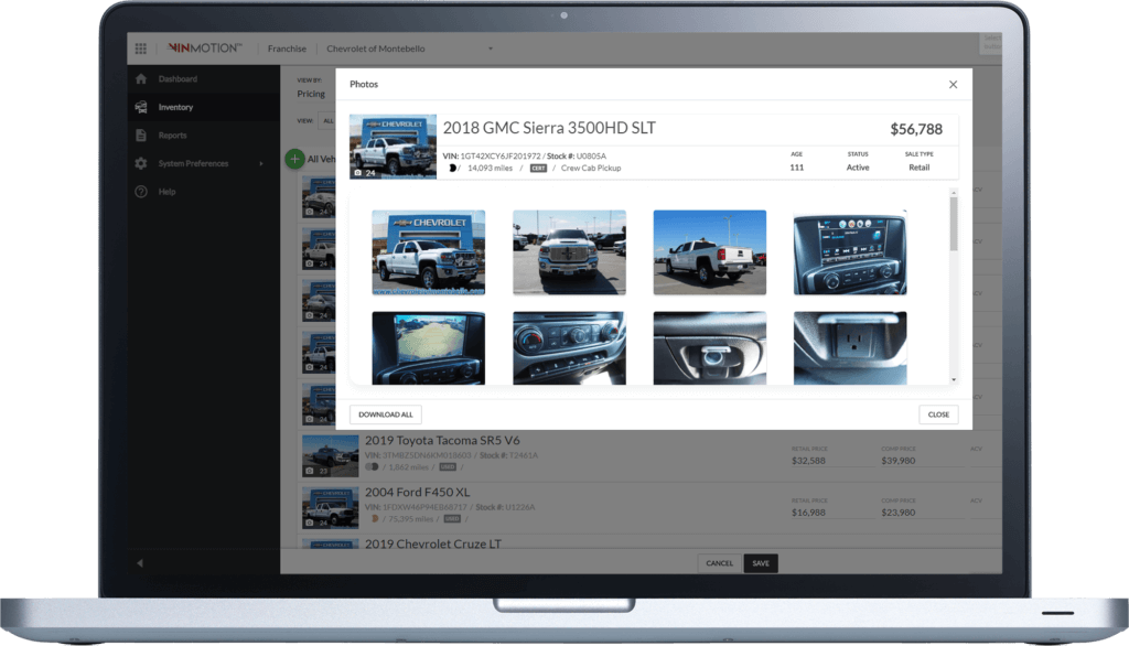 VinMotion Dealership Software