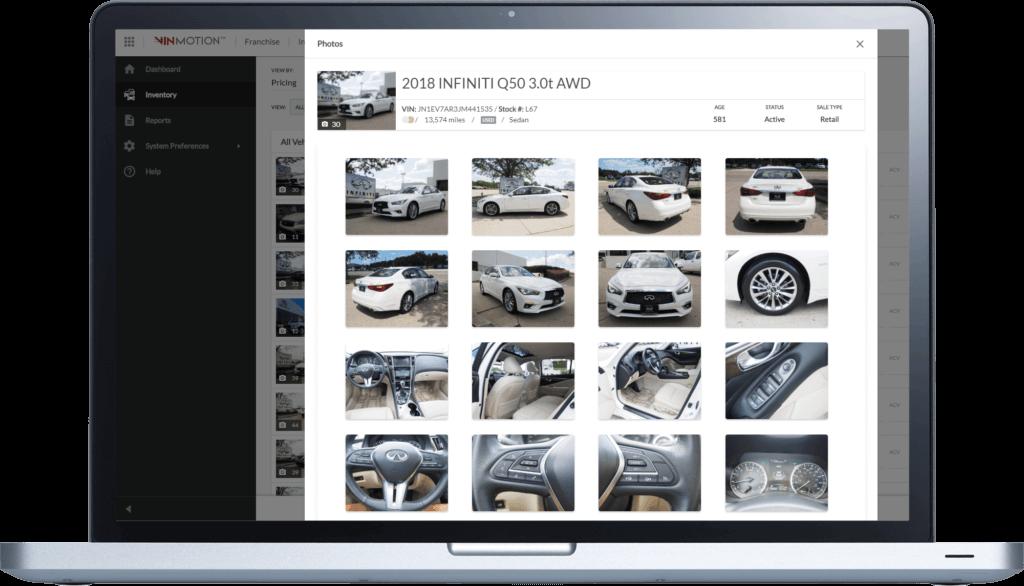 VinMotion Improve dealership merchandising